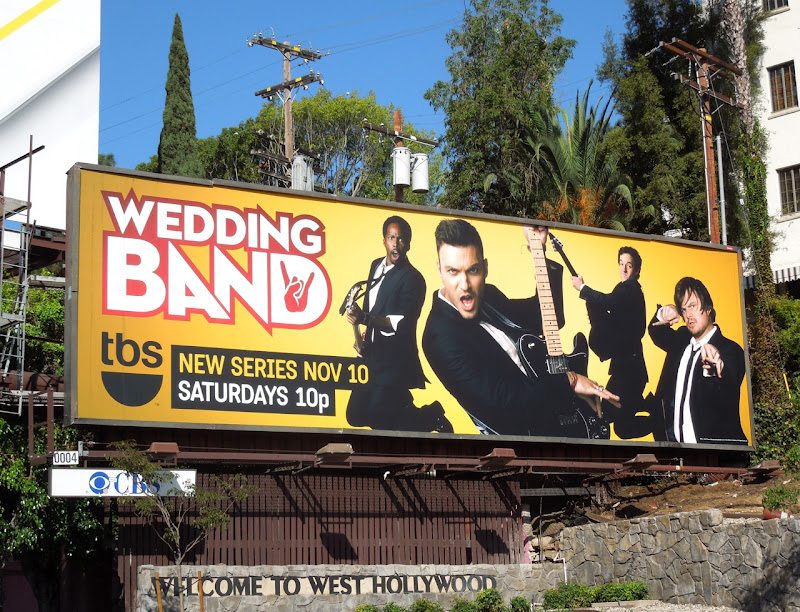 Wedding Band billboard