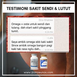Kelebihan & Testimoni Omega Guard Shaklee Untuk Sakit Sendi