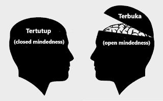 Berpikir terbuka dan berpikir tertutup