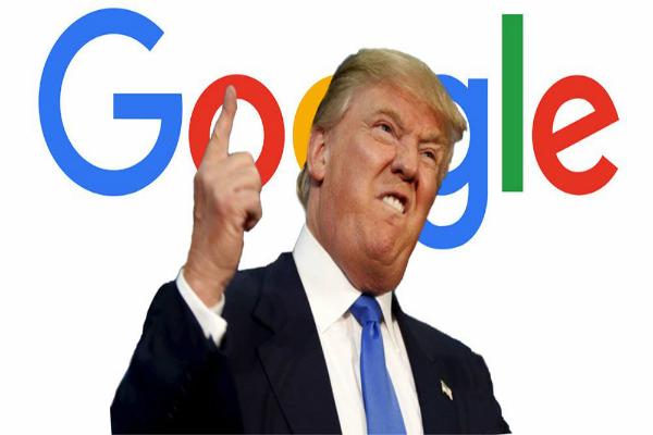 ترامب يوجه اتهاما صريحا لجوجل