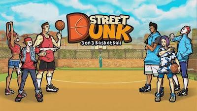 Street dunk 3 on 3 basketball Mod Apk Download