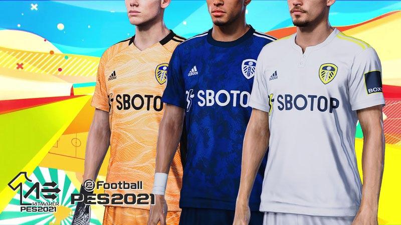 Leeds United 2021-2022 Kits For eFootball PES 2021