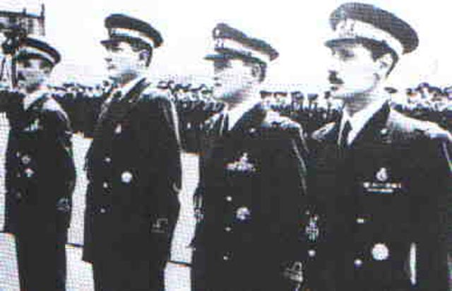 Italian submarine captains being honored, March 1942 worldwartwo.filminspector.com