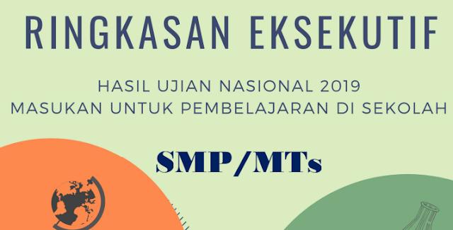 RINGKASAN SOAL UN SMP 2019