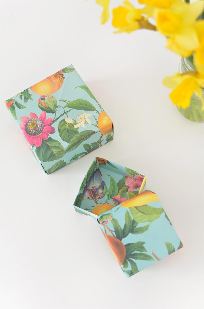 Diy Origami Gift Boxes Burkatron