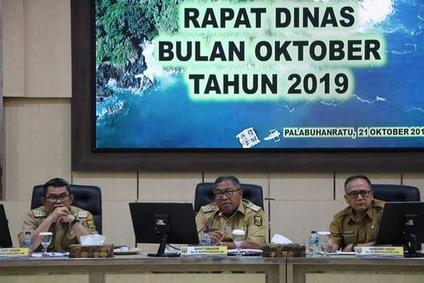 Bupati Sukabumi Minta ASN Tingkatkan Kinerja