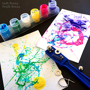painting ideas for kids - magnet painting