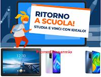 Concorso #idealoBackToSchool : vinci gratis un prodotto a scelta o Tablet Lenovo