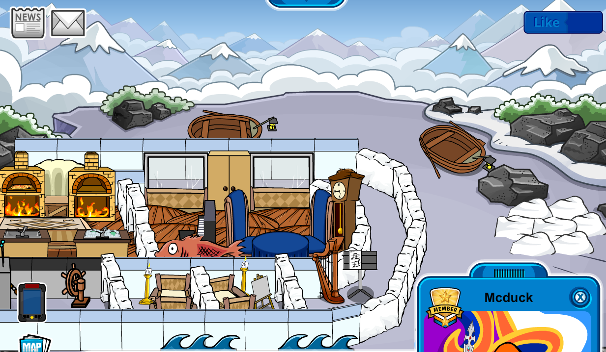 Club Penguin Iggy's