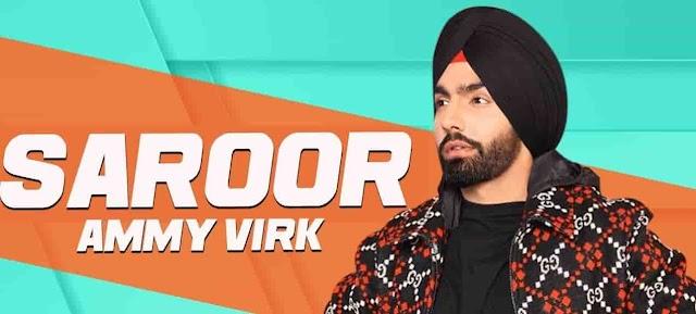 Saroor Lyrics Ammy Virk