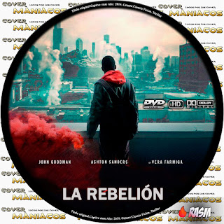 GALLETA LA REBELION - NACION CAUTIVA - CAPTIVE STATE - 2019 [COVER DVD]