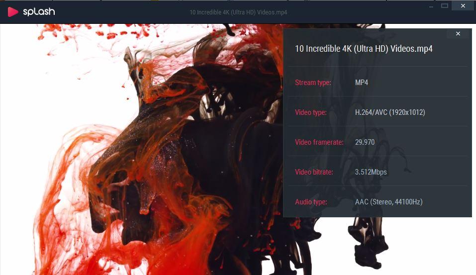 Tải Splash 2.7.0 - Phần Mềm Xem Video HD Mượt Nhất