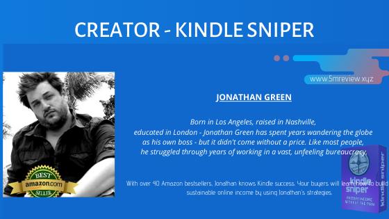 Kindle Sniper Jonathan Green