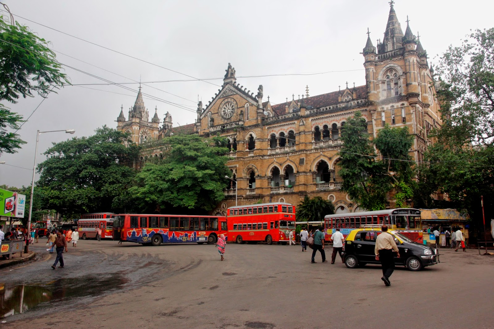 bombay train station
