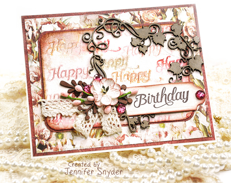 Scrap Escape Amazing Embellishments For Fabulous Birthday Cards