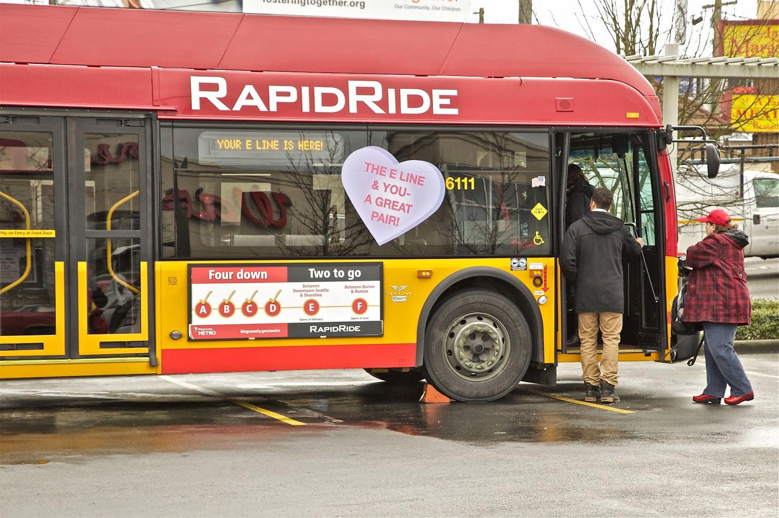 Shoreline Area News Take Rapid Ride E Line To Folklife