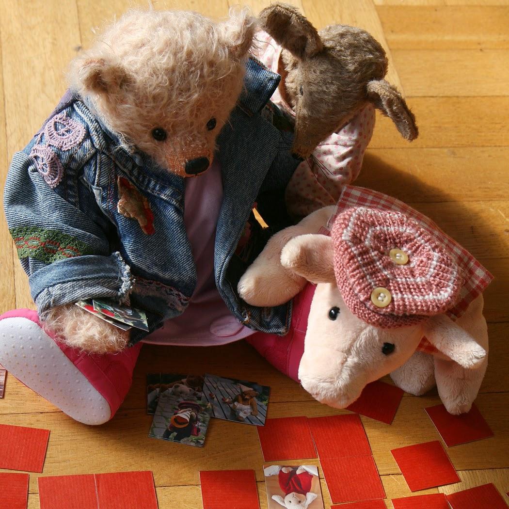 Kleine Bären Wars bären in haus garten fast schon ein paar