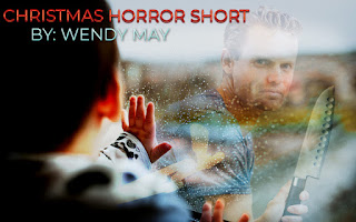 Stranger with Knife, Boy at Window, Rain drops on a window sill