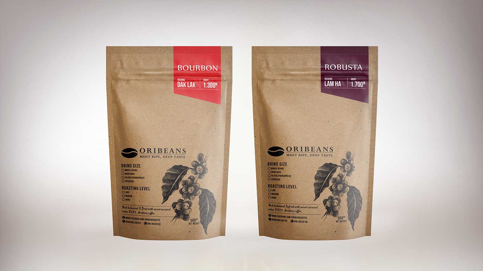 Oribeans Coffee on Packaging of the World - Creative Package ...
