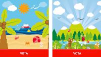 Logo Concorso Hape Italia : vota la tua idea di vacanza e vinci gratis un bellissimo gioco