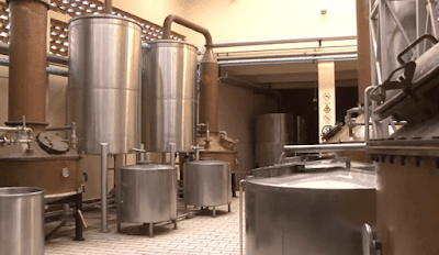 Colunas de destilação tequila