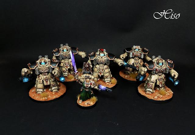 Space marines Centurions Azrael