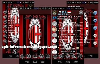 BBM Mod AC Milan Based 2.8.0.21 Terbaru