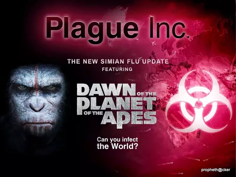 Plague Inc. Simulated Game Update with Dawn of the Planet of the Apes