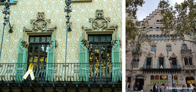 Casa Amatller, Passeig de Gràcia, Barcelona