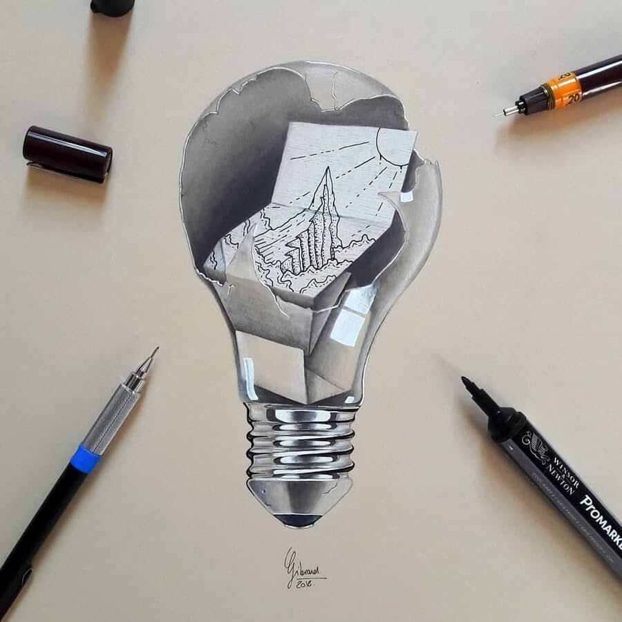 04-A-message-in-a-light-bulb-Louis-Gibiard-www-designstack-co