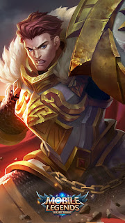 Tigreal Warrior Of Dawn Heroes Tank of Skins Old V2