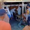 Babinsa Dan Binmas Desa Tamalate, Dampingi Tim Satgas Covid-19 UPT Puskesmas Galut Lakukan Pemeriksaan Swab Pada Warga Binaannya
