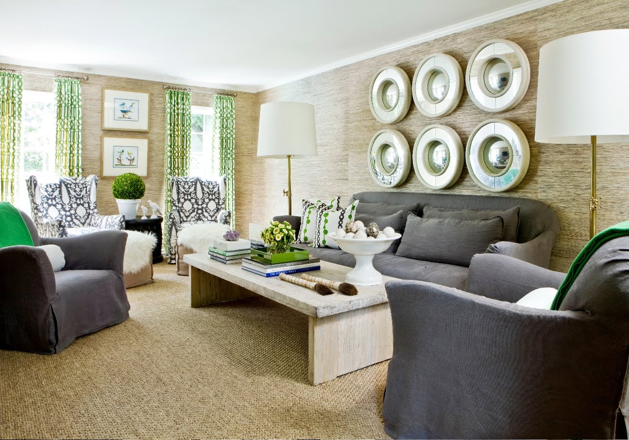 Cococozy see this house how interior designer melanie - Grey living room rug ...