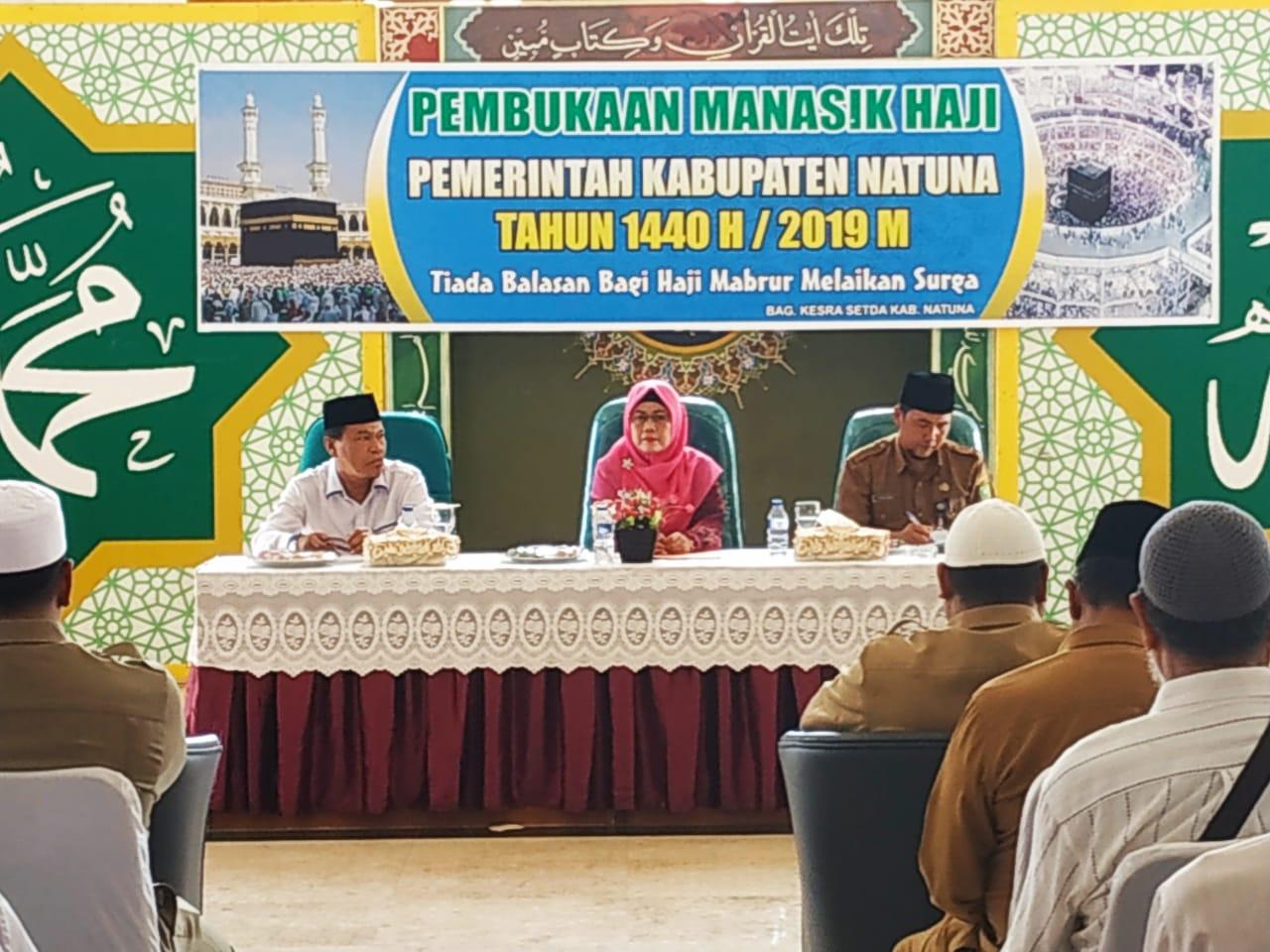 Image result for Wabup Natuna Buka Manasik Haji 1440 H/2019 M