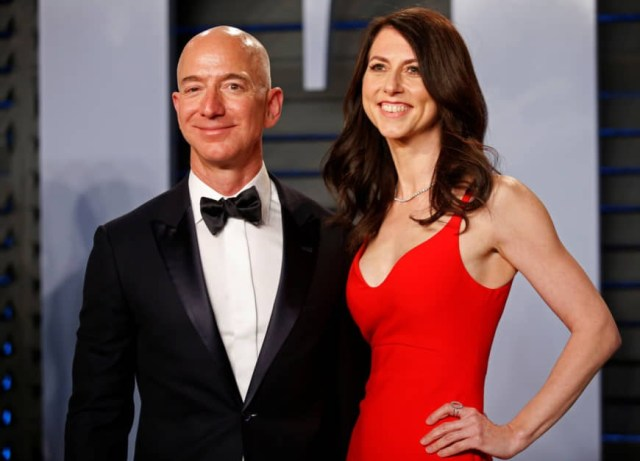 Jeff Bezos ex-wife becomes the 22nd richest person in the world after divorce settlement
