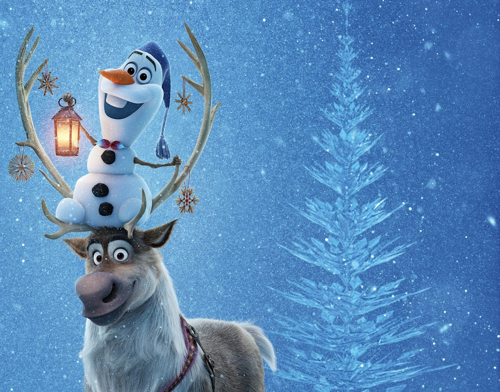 Tv with thinus sven tastic it 39 s olaf anna elsa and - Olaf and anna ...