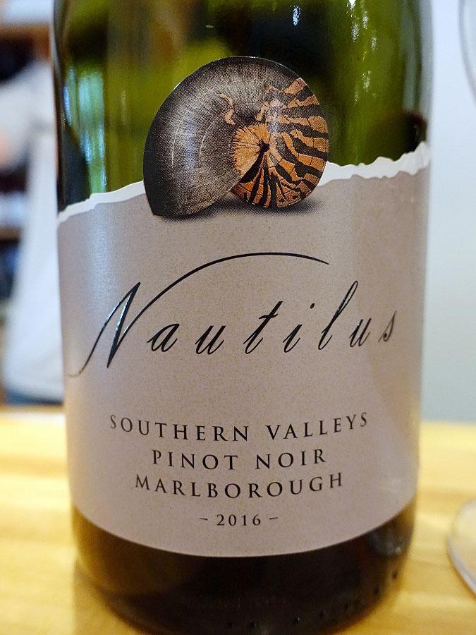 Nautilus Southern Valleys Pinot Noir 2016 (90+ pts)