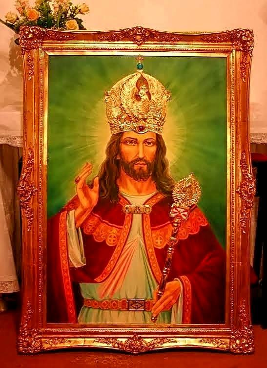 Isidorium: Historia Obrazu Chrystusa Króla - Mariusz Bożek