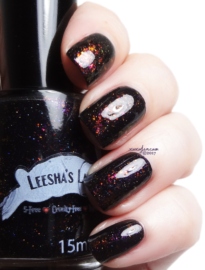 xoxoJen's swatch of Leesha's Lacquer Pier Pressure