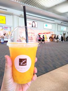 沖縄旅行 那覇空港での楽しみ♪
