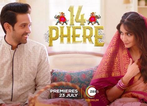 Download 14 Phere (2021) Hindi 720p + 1080p WEB-DL ESub