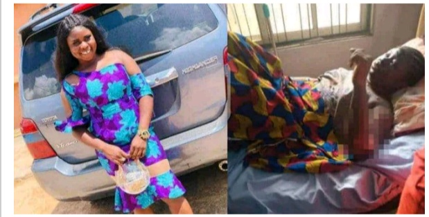 Young lady dies after getting burnt while answering a phone call close to a cooking gas.