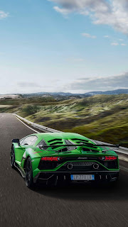 Lamborghini Aventador Mobile HD Wallpaper