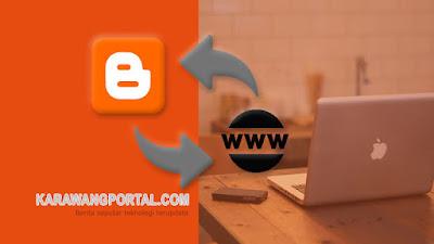 Mengubah Domain Blogspot Menjadi Domain Pribadi di Karawangportal-Rumahweb-Domainesia-NameCheap
