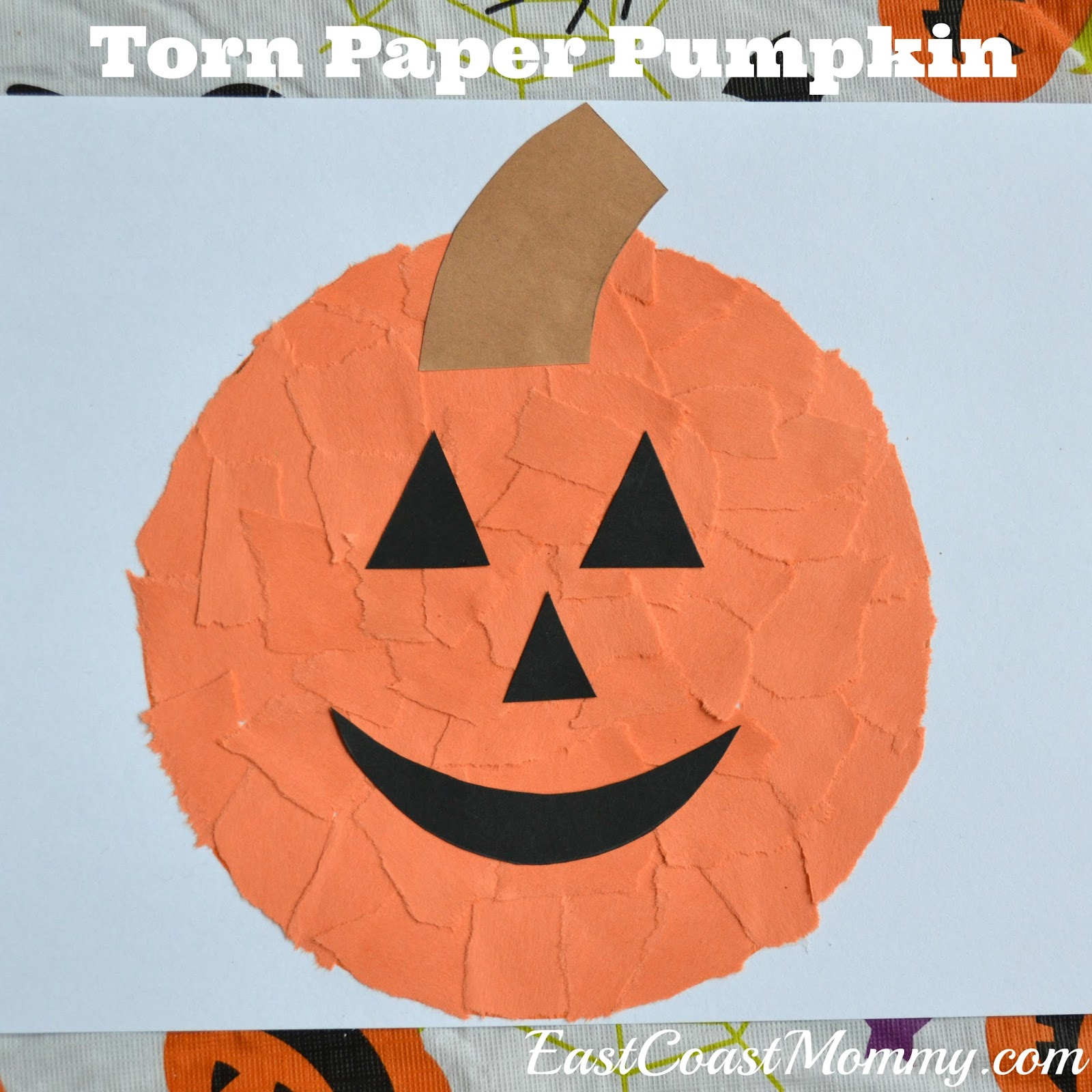 East Coast Mommy Halloween Paper Crafts