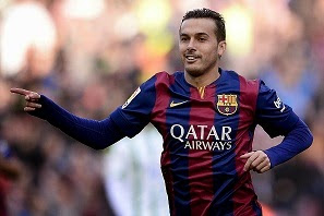Arsenal are reportedly set to make a £24million transfer bid to land Barcelona winger Pedro