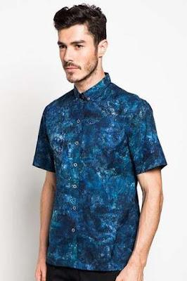 Baju Batik Remaja Pria Modis