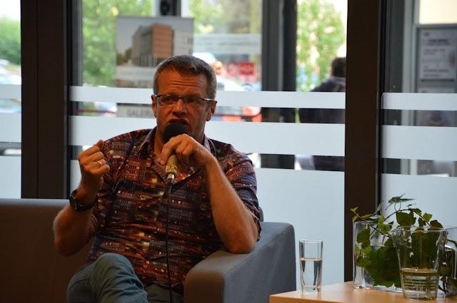 5-lecie Galerii Książki - spotkanie z Marcinem Mellerem