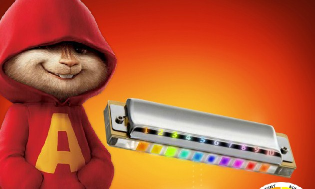 Alvin and the Chipmunks Harmonica