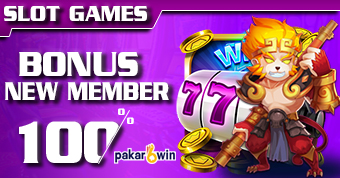 PAKARWIN | BONUS NEW MEMBER SLOT GAMES